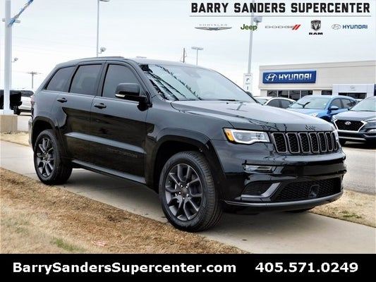 2020 Jeep Grand Cherokee Overland High Altitude Diamond Black Crystal Pearlcoat Stillwater Ok Enid Guthrie Dealer