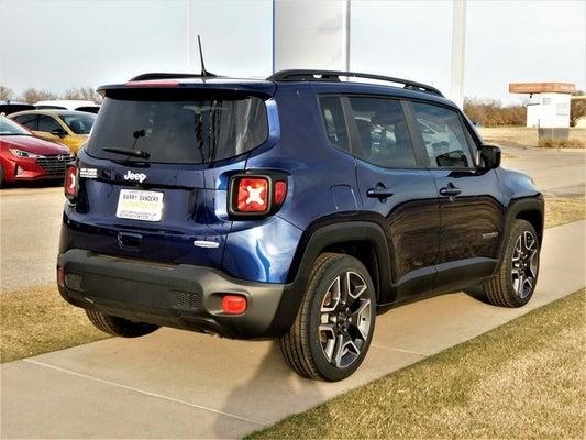 2020 Jeep Renegade Latitude Jetset Blue Clearcoat Stillwater Ok Enid Guthrie Dealer